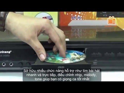 Đầu karaoke Arirang AR-36MD l Đầu DVD Karaoke Kỹ thuật số