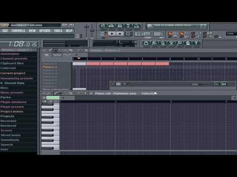 FL Studio 8 Beginners Basic Tutorial