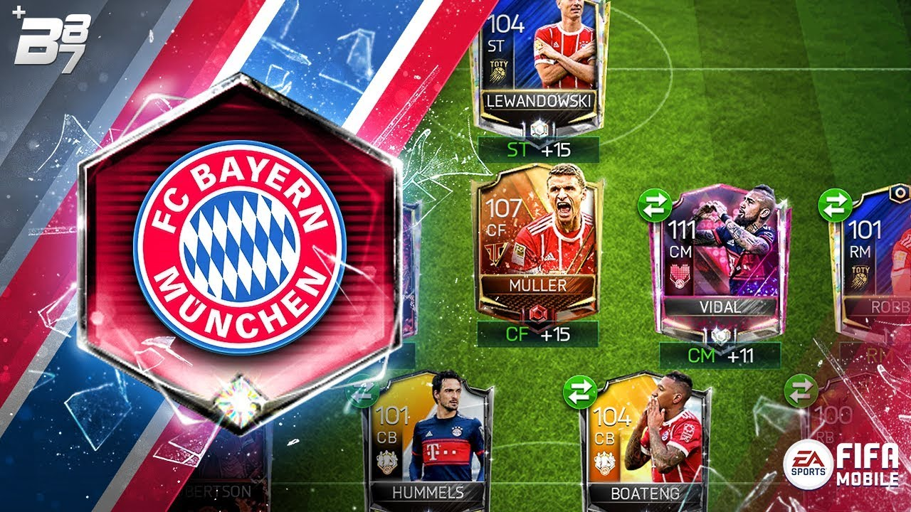 full bayern munich special card squad fifa mobile youtube. Black Bedroom Furniture Sets. Home Design Ideas
