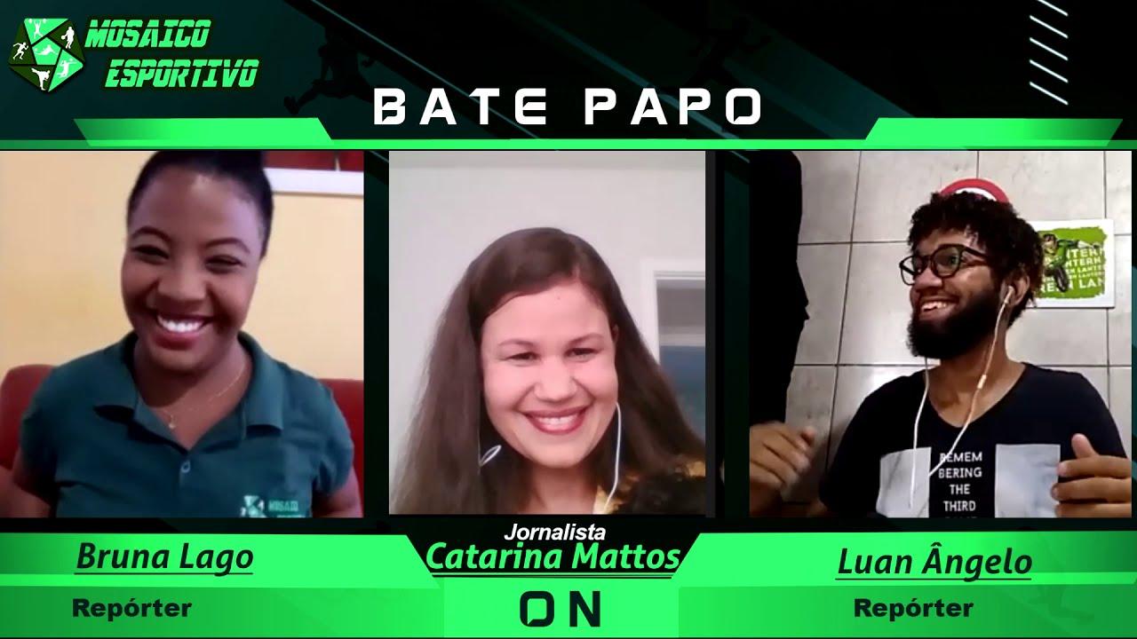 Bate - Papo Modo ON: Entrevista com a jornalista Catarina Mattos