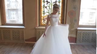 Свадебное платье закрытое