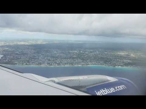 Bridgetown, Barbados approach/landing