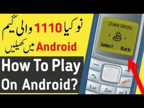 How To Play NOKIA Snake Xenzia Game On Android | Best Android Games Free Offline