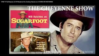 1958's TV Fall Season of 39 Westerns! It's Cowboy Heaven on A WORD ON WESTERNS