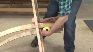 The American Woodshop Season 22 Web Extra: Cross Brace Chairs