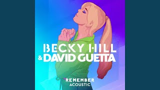 Remember (Acoustic)