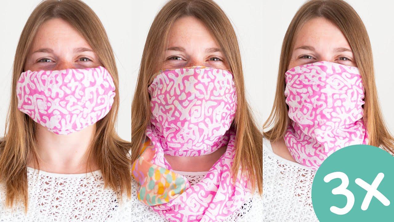 Schal Als Mundschutz