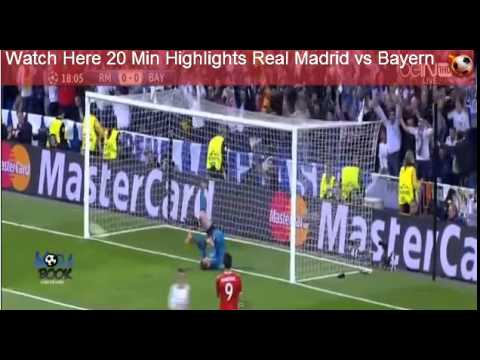 Real Madrid vs Bayern Munich 2014 | 25 April 2014