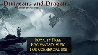 """Dungeons and Dragons"" - Royalty Free Music For Commercial Use - Epic/Celtic Fantasy"