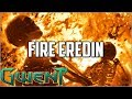 Gwent Fire Eredin ~ Too Close ~ Gwent Deck Gameplay