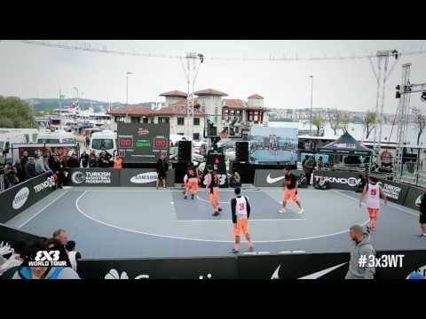 [FULL GAME] QF Bucharest (ROU) v Kranj (SLO) - 2013 FIBA #3x3WT Istanbul Final
