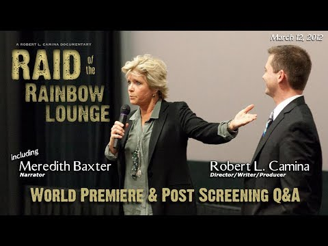 """RAID OF THE RAINBOW LOUNGE"" World Premiere and Post Screening Q&A (Fort Worth, TX)"