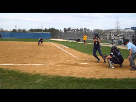 MJ Patten RVC vs Dakota County Technical College (hit to 2b, safe at 1b)