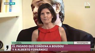 El pasado que condena a Amado Boudou y a Alberto Fernández - El editorial de Luciana Vázquez