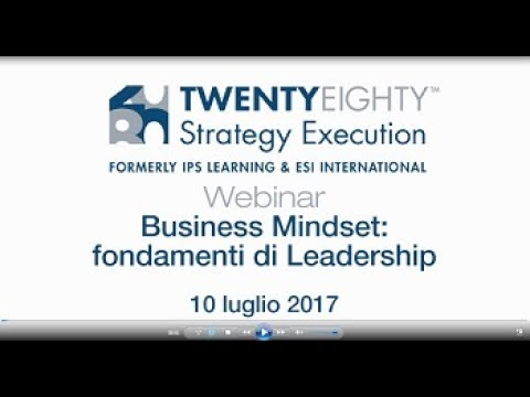 Free Webinar Business Mindset: fondamenti di Leadership