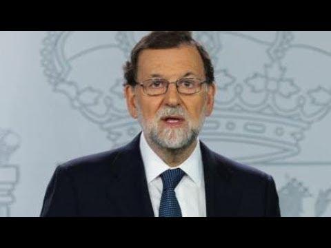RAJOY ACTIVA el 155 y pide a Puigdemont que aclare si declaró la independencia