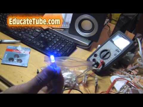Good How To Test For Defective LED Christmas Lights Using Lithium Battery (Part  II)   YouTube