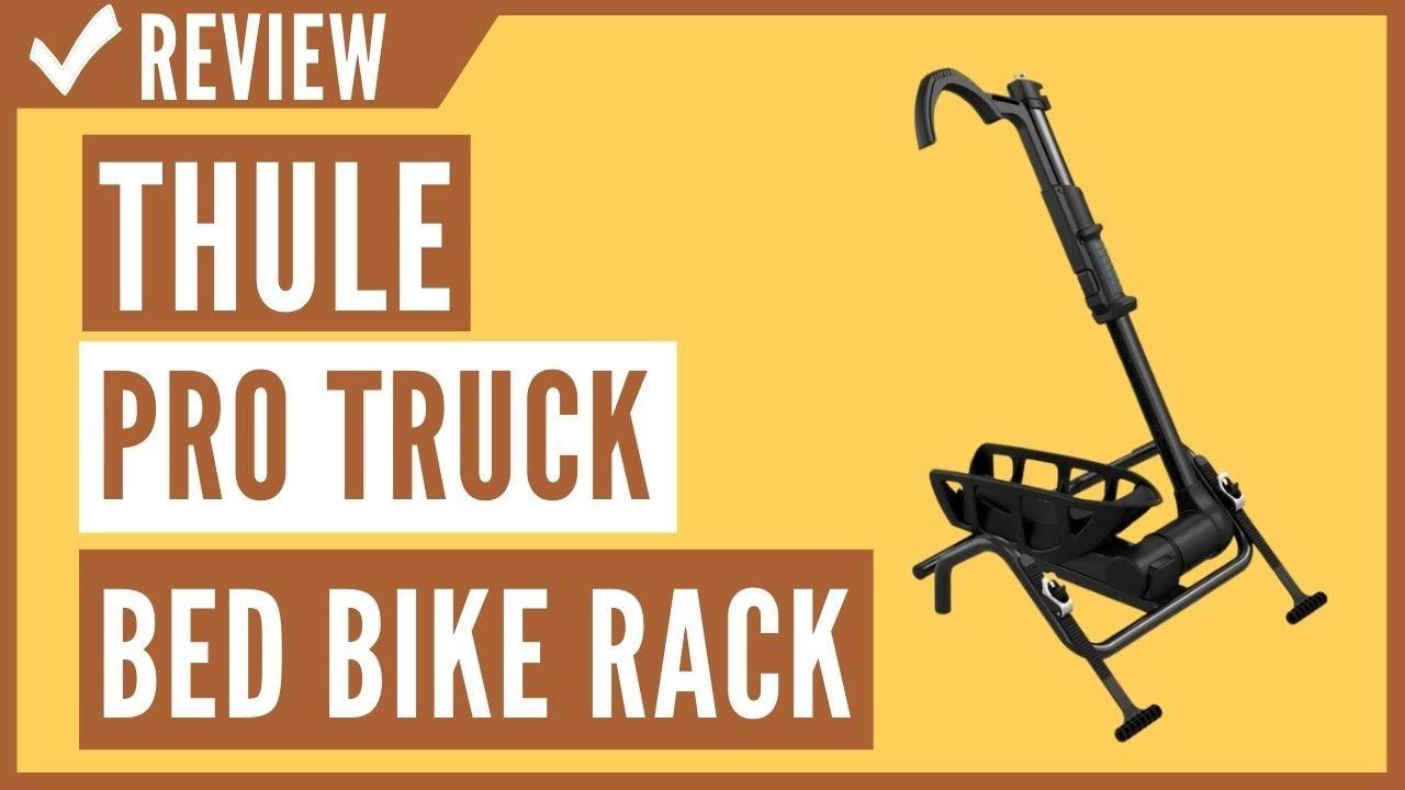 thule insta gater pro truck bed bike rack black review