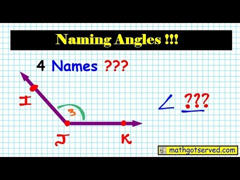 Vtext Geometry How to Name Angles Guide Step by step instructions Kuta ACT  SAT Accuplacer solutions