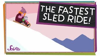 The Fastest Sled Ride Ever!