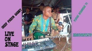 CHIEF PATRON GABBY OGBEKILE LIVE ON STAGE WITH IKA PMAN IN UMUNEDE          (IETV)