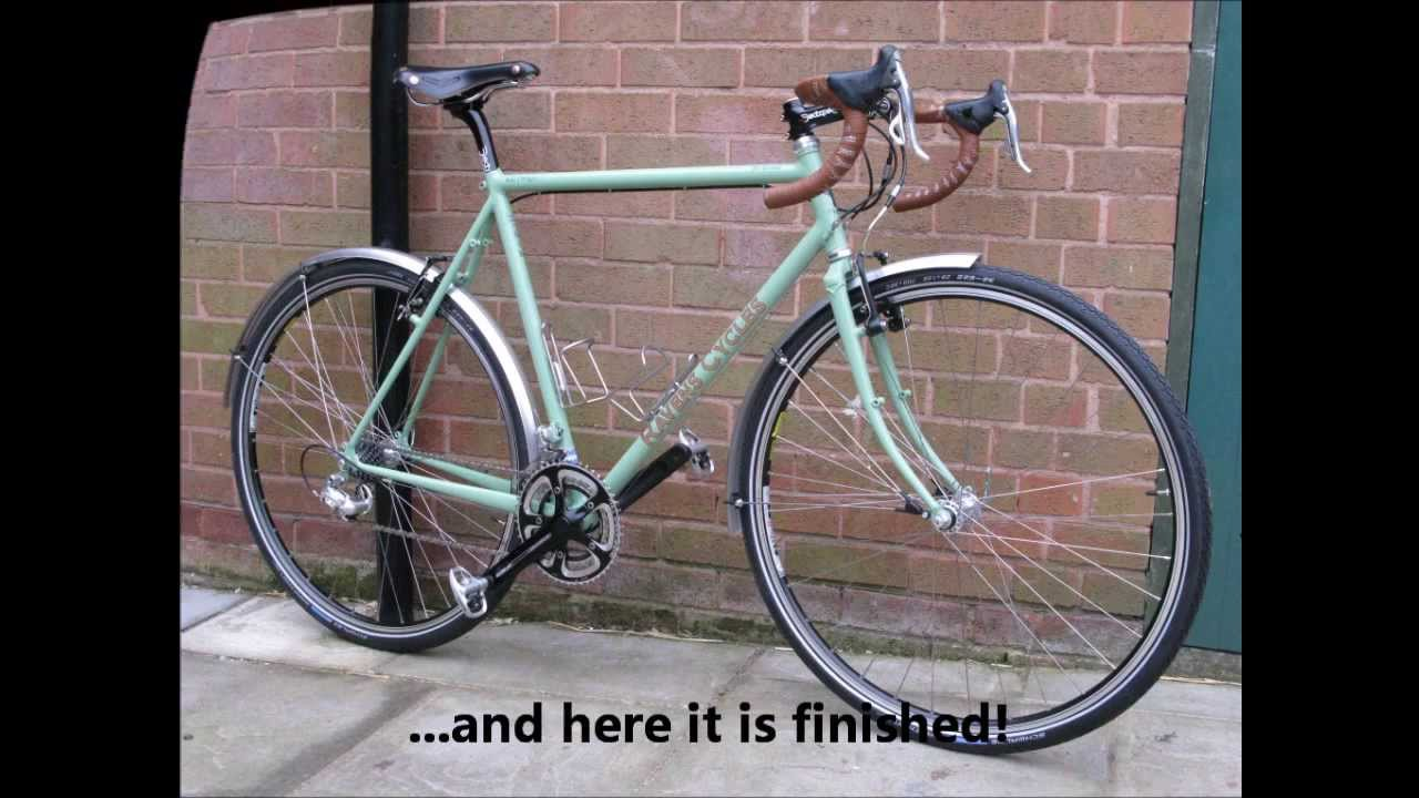 Building A Fillet Brazed Bicycle Frame - YouTube