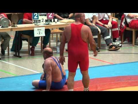 Freestyle Wrestling in Germany PIN at 130kg - Freistil Ringen