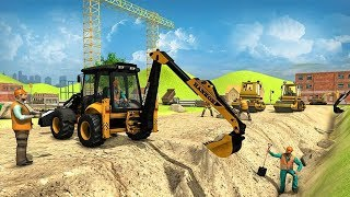City Road Builder Construction Excavator Simulator - Android GamePlay 3D