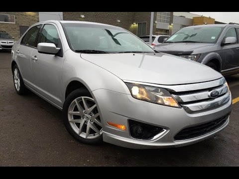 used silver 2012 ford fusion sel fwd review ponoka alberta youtube. Black Bedroom Furniture Sets. Home Design Ideas