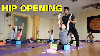 Yoga For Hip Flexibility And Lower Body Strength  Beginner to Intermediate Level  Raja Gupta