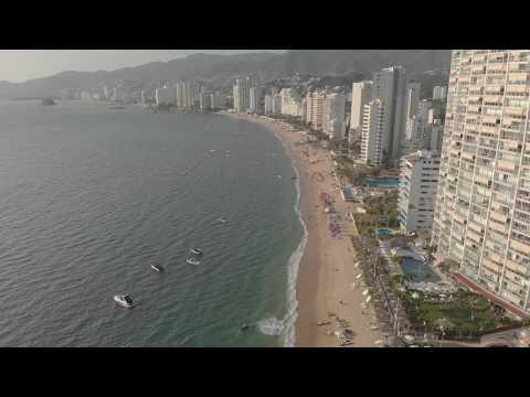 Social Media Acapulco Beach