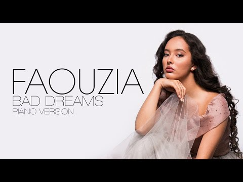 Faouzia - Bad Dreams | Lyrics Video | مترجمة