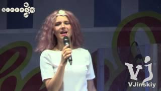 Группа Фабрика - Звездное лето - г.Рубцовск 1 августа 2015г.