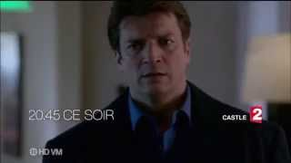 Castle 6x12 Un monde d'illusions Bande annonce France 2 #2