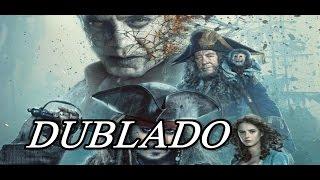 Piratas do Caribe: A Vingança de Salazar Trailer Novo (DUBLADO)