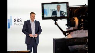 SKS Mandantentag.digital 2020 | Begrüßung Moderator Philipp Bächstädt & Geschäftsführer Jan Hrynko