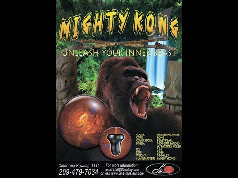 Throwing the Mighty Kong by Lane Masters #LaneMasters #LordField #CaliforniaBowlingLLC