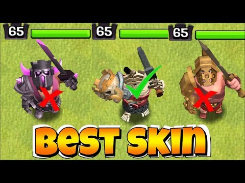 WHICH IS THE BEST SKIN!?!