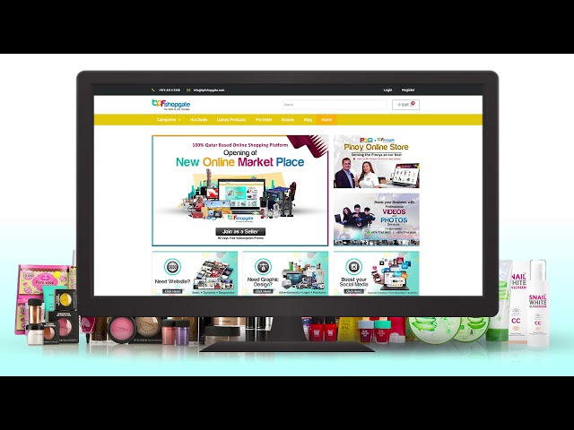 Create Online Store Tutorial 2019