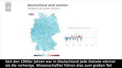 Deutschland wird wärmer. Die Temperaturen der letzten 136 Jahre. – Deutscher Wetterdienst (DWD)