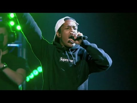 A$AP Rocky - Wild For The Night at Radio 1's Big Weekend 2013