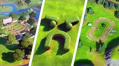 Visit Grumpy Greens, Mowdown, and Risky Reels All Locations - Fortnite Challenge