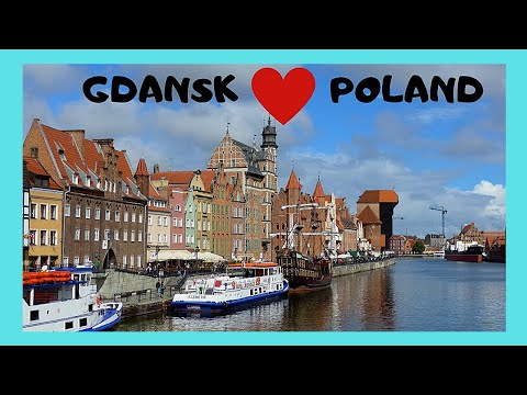 GDANSK, a walking tour of this very historic city, POLAND