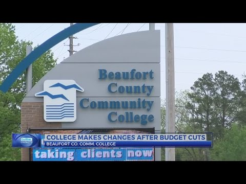 Beaufort County Community College makes changes after budget cuts