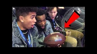 THE MOST EXCITING FOOTBALL GAME EVER! WE GOT THE GAME BALL!?
