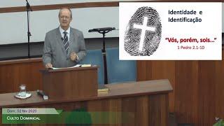 Culto Dominical - Mensagem em 1 Pedro 1.1-2 (cont.)