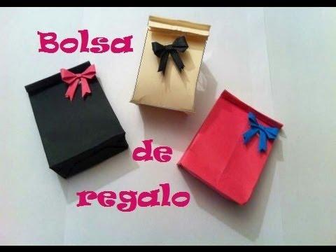 Manualidades bolsita de regalo muy f cil youtube - Regalos faciles y rapidos ...