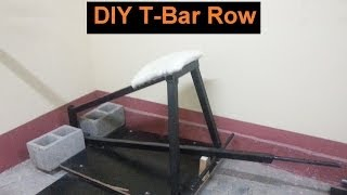 Diy  T-bar Row For Bigger Back