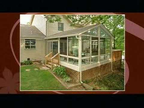 Fox 8 39 s that 39 s life patio enclosures sunroom customer viyoutube - Enclosed balcony design ideas oases of serenity ...