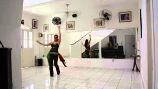 Coreografia para iniciantes -  Música Wala Ala Balo - Amr Diab